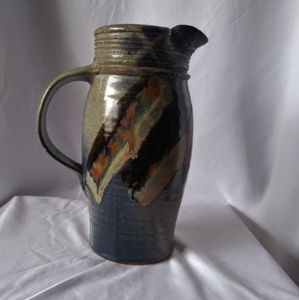 Art Pottery Pitcher Vase